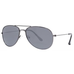 サングラス ケネスコール メンズ Kenneth Cole Reaction KC1248 5908C Men's Gunmetal Smoke Black Aviator Sunglasses|aurora-and-oasis