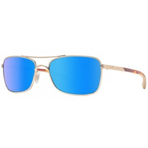 サングラス コスタデルマール ユニセックス Costa Del Mar Palapa AP64 OBMGLP Rose Gold Blue Mirror Polarized 580G Sunglasses|aurora-and-oasis