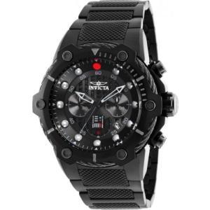 腕時計 インヴィクタ インビクタ メンズ Invicta 26207 Star Wars Darth Vader Men's Chronograph 51.5mm All Black Watch|aurora-and-oasis