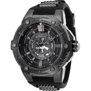 腕時計 インヴィクタ インビクタ メンズ Invicta 26123 Star Wars Men's 53mm Automatic Black-tone Steel Grey Dial Watch|aurora-and-oasis