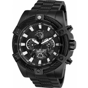 腕時計 インヴィクタ インビクタ メンズ Invicta 27248 Star Wars Men's 52mm Chronograph Black-Tone Steel Gunmetal Dial|aurora-and-oasis