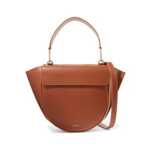 WANDLER ワンドラー ショルダーバッグ ライトブラウン Hortensia medium leather shoulder bag|aurora-and-oasis