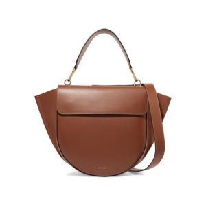 WANDLER ワンドラー ショルダーバッグ ブラウン Hortensia large leather shoulder bag|aurora-and-oasis