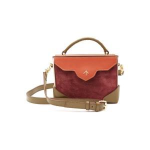 MANU ATELIER マニュ アトリエ ハンドバッグ スエードレッド Micro Bold Leather Shoulder Bag|aurora-and-oasis