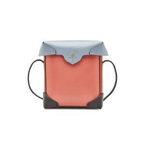 MANU ATELIER マニュ アトリエ ショルダーバッグ ピンク Mini Pristine Leather Shoulder Bag|aurora-and-oasis