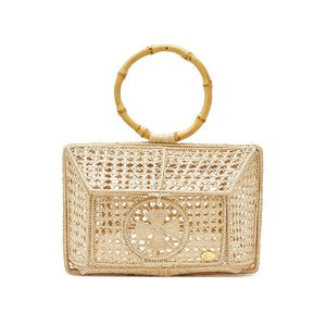 SORAYA HENNESSY ソラヤヘンネシー ハンドバッグ ベージュ The Camila Basket Handbag|aurora-and-oasis