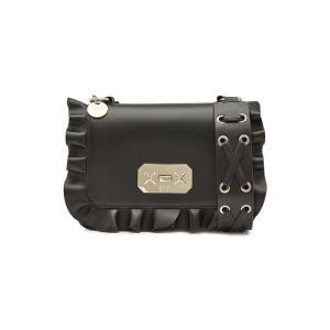 RED (V) レッドヴァレンティノ クロスボディバッグ ブラック Leather Crossbody Bag|aurora-and-oasis
