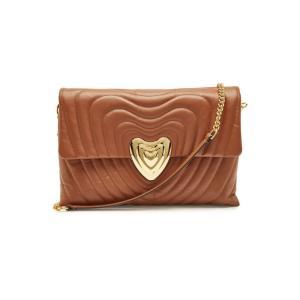 ESCADA エスカーダ ショルダーバッグ ブラウン Leather Shoulder Bag|aurora-and-oasis