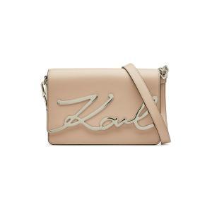 KARL LAGERFELD カール・ラガーフェルド ショルダーバッグ ピンク K/Signature Leather Shoulder Bag|aurora-and-oasis