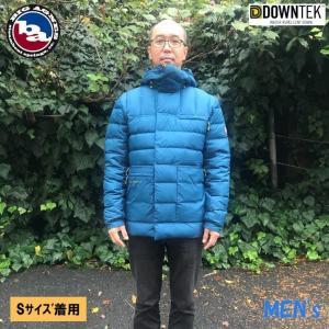 【ビッグアグネス Bigagnes】M's フレイタージャケット_ブルー/オリーブ(ダウン/ダウンジャケット/アウター/アウトドア/メンズアウター/メンズジャケット)|auroralodge