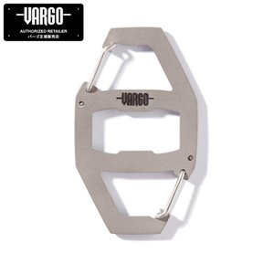《NEW》【バーゴ VARGO】バイナリーカラビナ(チタン/軽量/カラビナ/ボトルオープナー/ウルトラライト/UL/アウトドア)|auroralodge