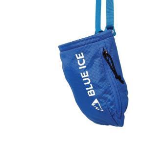【ブルーアイス BLUEICE】センダーチョークバック_ターキッシュ ブルー (チョークバッグ/クライミング/小物入れ)|auroralodge