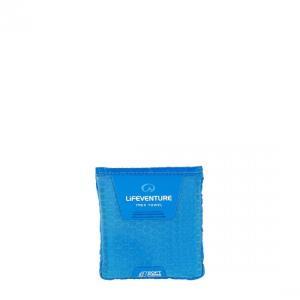 【ライフベンチャー LiFEVENTURE】ソフトファイバーアドバンス ポケット ブルー (吸水速乾タオル/アウトドア/旅行/軽量/コンパクト)|auroralodge