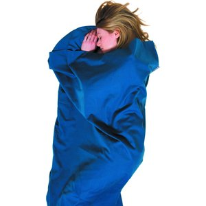 【ライフベンチャー LiFEVENTURE】ポリコットンスリーピングバッグライナー (インナーシュラフ/山小屋泊/テント泊/寝袋)|auroralodge