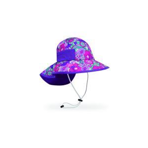 【サンデーアフタヌーンズ】 キッズ プレイハット_フラワーガーデン(帽子/日除けハット/UVケア/アウトドア/登山)|auroralodge