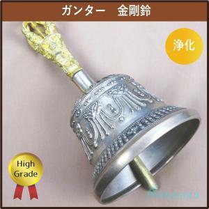 ガンター 金剛鈴 高品質ハイグレード チベット密教法具|aurorastore