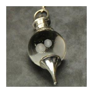 ヒマラヤ水晶ペンジュラム(ポイント) フーチ 振り子 占い リーディング ペンデュラム|aurorastore