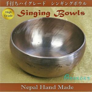 シンギングボウル6 Singing Bowls 手打ちハンドメイド ハイグレード ネパール製 1点物|aurorastore