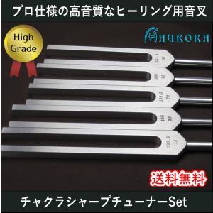 ハイグレード音叉 チャクラシャープチューナー5本セット Made in USA|aurorastore