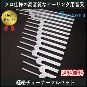 ハイグレード音叉 経絡チューナーフル14本セット Made in USA|aurorastore