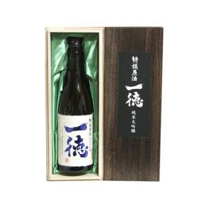 一徳 特撰原酒純米大吟醸  高木酒造 720ml