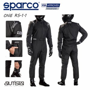SPARCO スパルコ レーシングスーツ ONE RS-1.1|autista-s