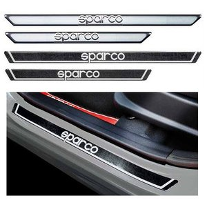 SPARCO スパルコ SILL GUARD CARBON LOOK シルガード カーボンルック 450x35mm|autista-s