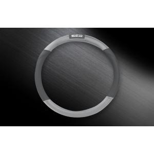 SPARCO CORSA スパルコ コルサ ステアリングカバー S グレー SPC1109GRJS|autista-s