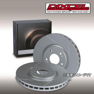 スリットブレーキローター スバル レガシィB4 BL5 2.0GTスペックB フロント用セット ディクセル SDタイプ