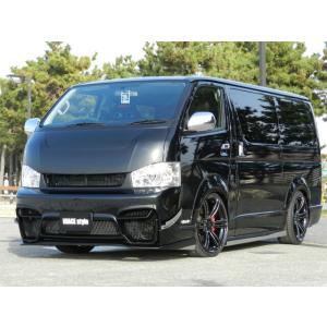 [415 COBRA]  【ナロー】 SPORTY LINE ボンネット 4型 ハイエース 200系 標準ボディ 個人宅不可 大型荷物につき特別運賃 auto-craft