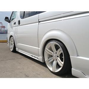 [415 COBRA]  CONCEPT2 オーバーフェンダー (25mm幅/20mmダウンルック) 3型 ハイエース 200系 標準/ワイドボディ共通 個人宅不可 大型荷物につき特別運賃|auto-craft