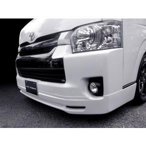 [415 COBRA]  【ワイド】 CLEAN LOOK4 フロントスポイラー 4型 ハイエース 200系 ワイドボディ 個人宅不可 大型荷物につき特別運賃 auto-craft