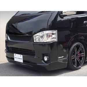 [415 COBRA]  【ナロー】 CLEAN LOOK3 フロントスポイラー 4型 ハイエース 200系 標準ボディ 個人宅不可 大型荷物につき特別運賃|auto-craft