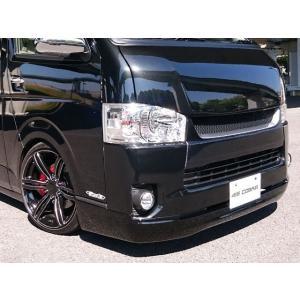 [415 COBRA]  【ワイド】 CLEAN LOOK3 フロントスポイラー 4型 ハイエース 200系 ワイドボディ 個人宅不可 大型荷物につき特別運賃 auto-craft