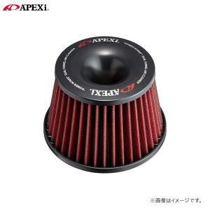 [APEXi] アペックス パワーインテーク用交換エレメント ブラック(クリーナー単体)|auto-craft