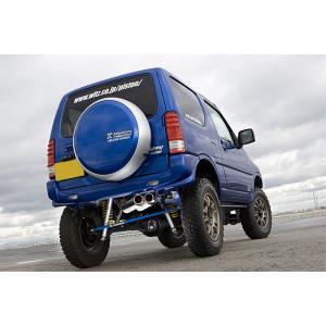 [5ZIGEN] マフラー SPスペック ストリート ジムニー ABA-JB23W H10/10〜 K6A(TC) 〜10型まで取付可 社外ショートバンパー車専用|auto-craft