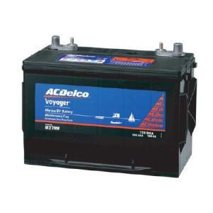 ACデルコ 【M24MF】 マリン用バッテリー ボイジャー メンテナンスフリー ディープサイクル|auto-craft