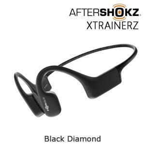 AfterShokz XTRAINERZ ブラックダイヤモンド 骨伝導ワイヤレスヘッドホン (アフタ...
