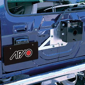 [APIO] アピオ ジムニー [JB23/JB33/JB43] スペアタイヤ移動&ナンバー移動キット auto-craft