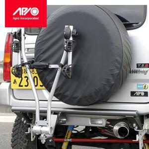 [APIO] アピオ ジムニー [JB23] リアFRPバンパー装着車用 サイクルキャリアセット(THULE Xpress 970)(北海道は送料1240円/沖縄・離島は送料別途) auto-craft