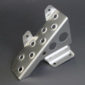 [APIO] アピオ MT車用 ドライバー用フットレスト クリアアルマイト ジムニー JB23W / JA11 / JA12 / JA22|auto-craft