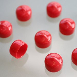 [APIO] アピオ ボルトキャップ・ショートレッド(10ヶセット)|auto-craft