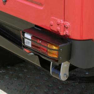 [APIO] アピオ タクティカル・リアランプボックス用ランプガード 左右セット ジムニー SJ30 / JA11 / JA12 / JA22|auto-craft