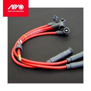 [APIO] アピオ  イリジウムレッドプラグコード ジムニー JA11 / JA12 / JA71|auto-craft