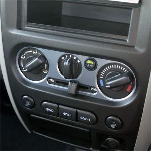 [APIO] アピオ  ACコントロールカバー ガンメタ ジムニー JB23W-5〜10型 / JB43W-4〜9型|auto-craft