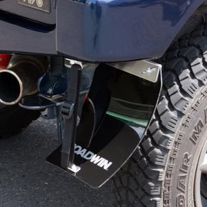 [APIO] アピオ ROADWINマッドフラップ・リアCタイプ(JB23Wカスタムリアバンパー用) ブラック 左右セット ジムニー JB23W|auto-craft
