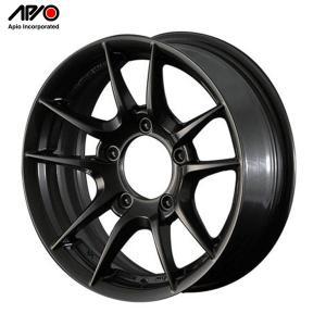 [APIO] アピオ  アルミホイール WILDBOAR Z 16インチ 5.5J 5H PCD139.7 +20 レイドブラック 1本 ジムニー|auto-craft