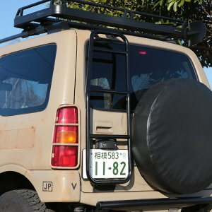 [APIO] アピオ  リアラダータイプ2 ジムニー JB23W JB33W JB43W リアAPIOカスタム車用|auto-craft
