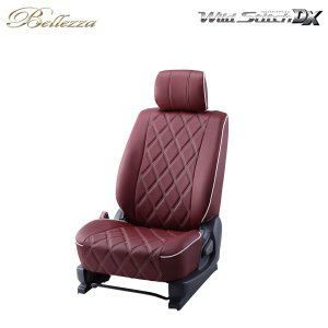 [Bellezza] ベレッツァ ワイルドステッチDX シートカバー ジムニー JB64W H30/7〜 4人乗 [XC / XL(セーフティサポート装着車含む)]|auto-craft
