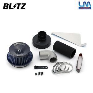 [BLITZ] ブリッツ サスパワー コアタイプLM ブルー エアクリーナー コペン L880K 02/06〜 JB-DET シュラウドプレート付き|auto-craft